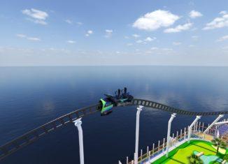 Carnival cruise roller coaster