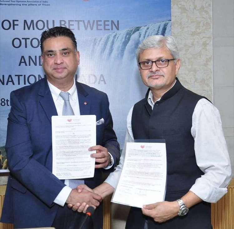 OTOAI sings MoU with Canada Tourism