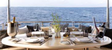 Jumeirah Vittaveli - MY Vittaveli Deck Dining 6