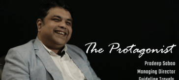 Pradeep Saboo, Guideline Travels The Protagonist