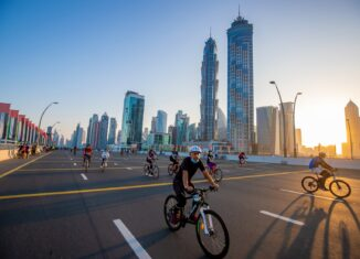 20,000 riders make history at the first-ever Dubai Ride