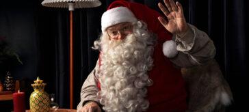 Visit Finland - Say it with Santa